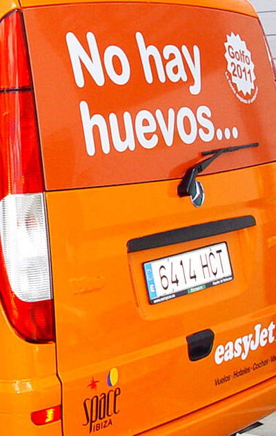 Decoració de vehicles - Easyjet